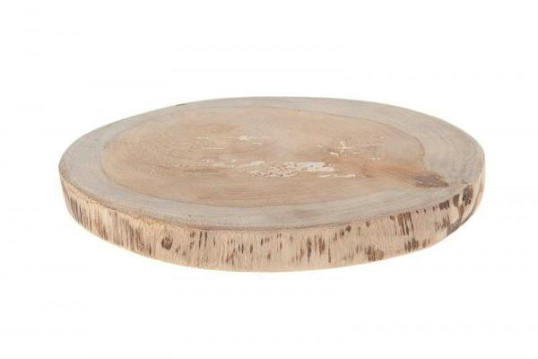 Scheibe Holz D18x2cm, natur