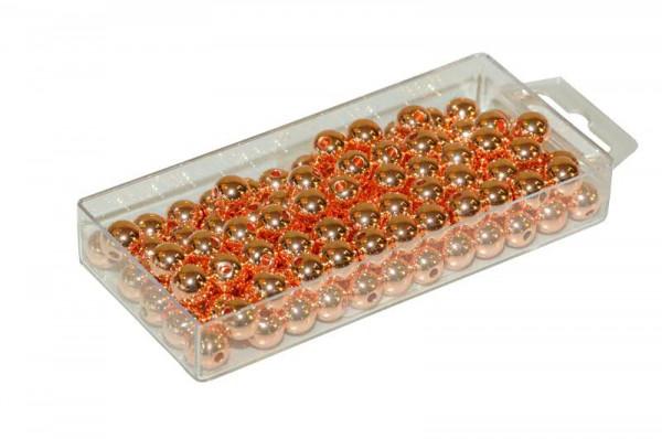 Perlen 10mm 115St., met.kupfer