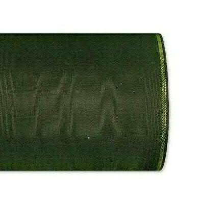Kranzband 4422/075mm 25m Moire Goldrand, 248 moosgr