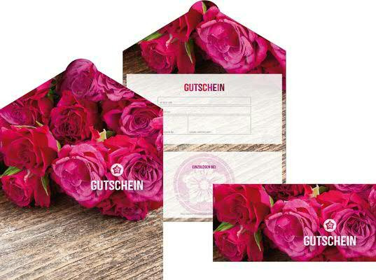 Gutschein Glossy Rose-Holz