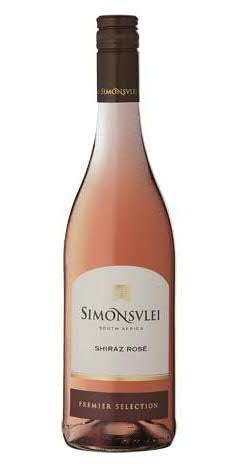 Wein Simonsvlei Shiraz Rosé Jg.2017 | 0,75l | Südafrika, rosé