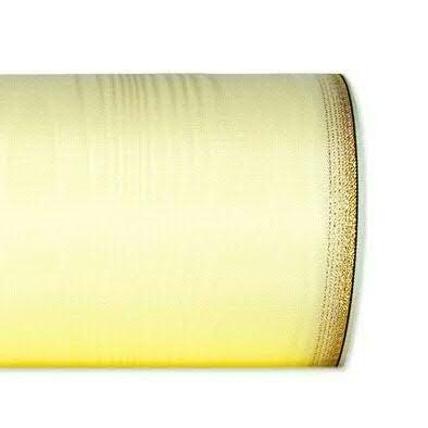 Kranzband 6694/150mm 25m Moire Goldrand, 678 champa