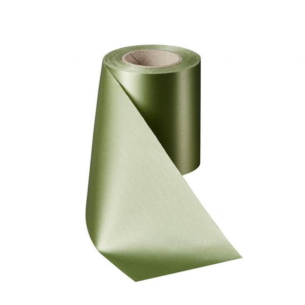 Kranzband 06000/150mm 25m Satin, 079 h.grün