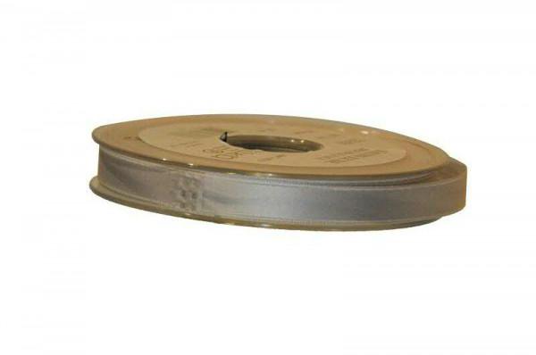 Band Satin 22355/10mm 25m, 716 grau