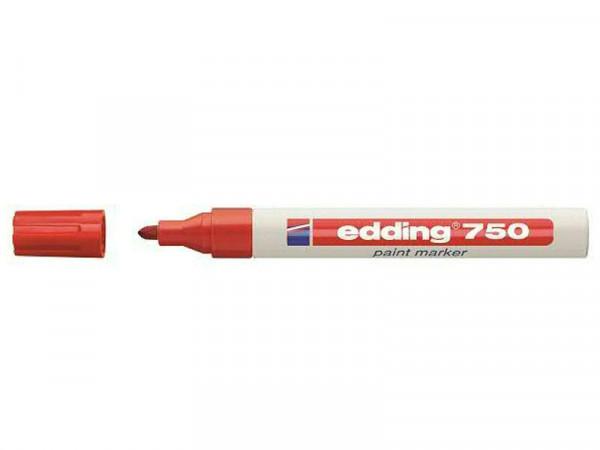 Edding SP 750 Paintmarker, rot