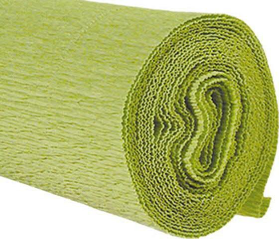 Krepp 50 x 250 cm, hellgrün