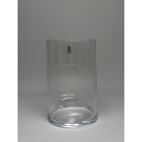 Glas Zylinder H30cm D19cm Bestpreis, klar