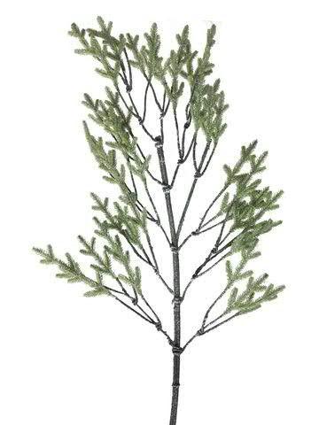 Tannen Zweig 150cm beglittert, grün