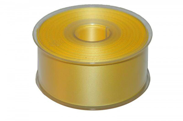 Band Satin 22355/40mm 25m, 026 gelb