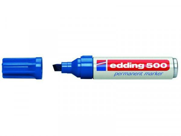 Edding 500 permanent, blau