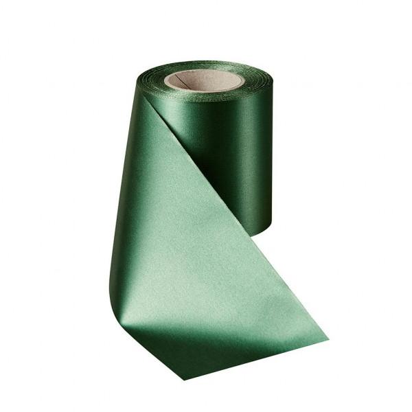 Kranzband 06000/100mm 25m Satin, 027 f.grün