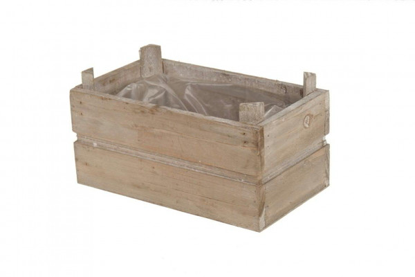 kiste holz 19 5x11x8cm natur wash holz kisten fr hjahr sommer saisonale. Black Bedroom Furniture Sets. Home Design Ideas