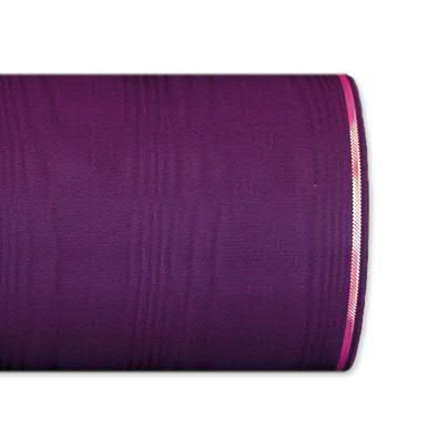 Kranzband 4422/075mm 25m Moire Goldrand, 256 purple