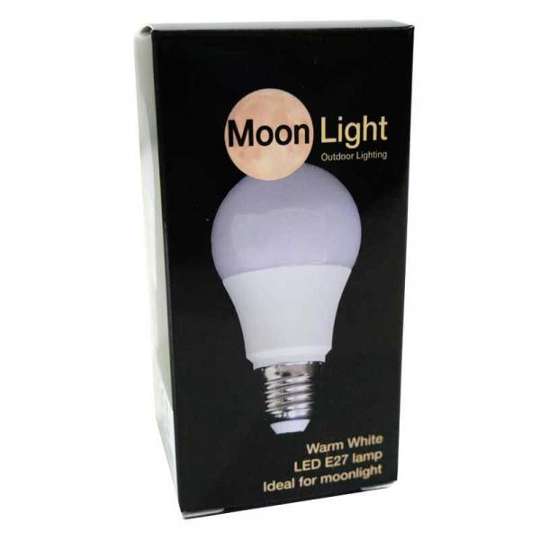 Leuchtmittel LED E27 5 Watt 2700K Moonlight, warm weiß