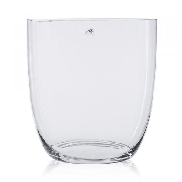 Glas Kübel H33D31,3cm, klar