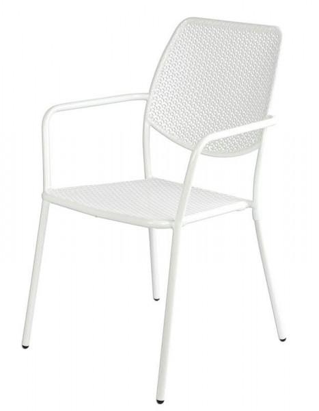 Stuhl Metall SP 55x45x90cm, weiß