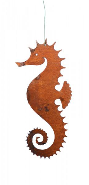 Rost Seepferdchen 16cm zum Hängen