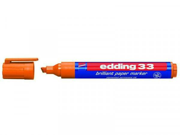 Edding SP 33 Papermarker brilliant, orange
