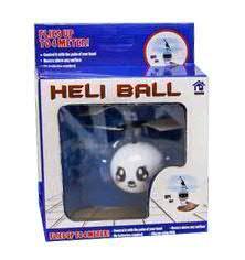 Heli Ball SP D3H11cm mit Licht + USB Kiala, weiß
