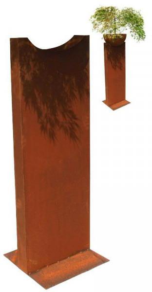 Rost Säule m.Aussparung H160cm