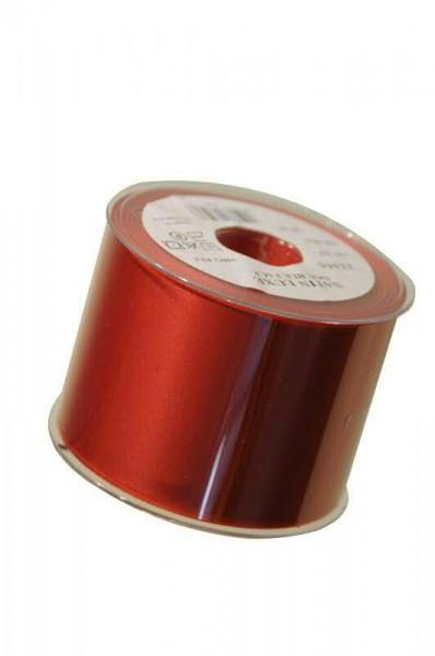 Band Satin 22355/70mm 25m, 025 rot
