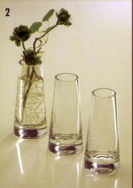 Glas Vase H12D3,5cm