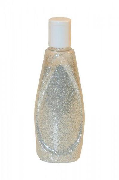 Glasdiamantine grob 250ml, silber