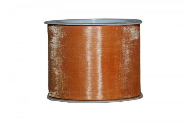 Band Organza 4335/70mm 25m, 52 apricot