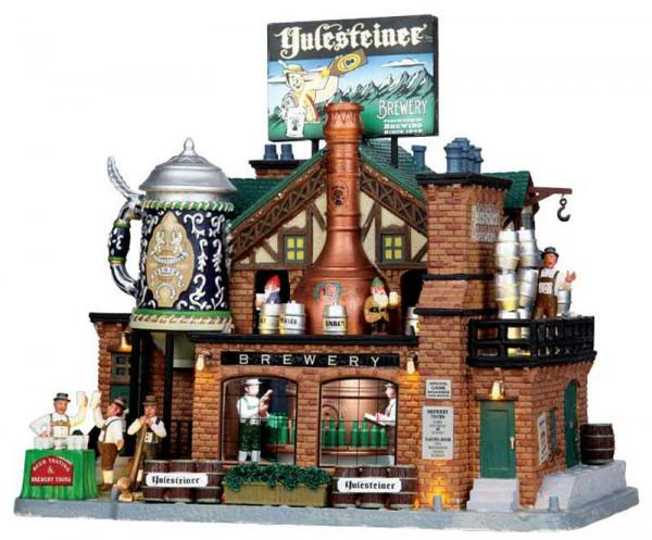 Yulesteiner Brewery | Animierte Artikel | Lemax | Weihnachts ...
