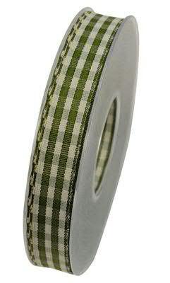Band Karo X432/15mm 20m, 54 oliv