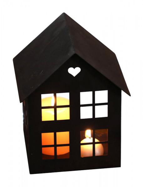 Rost Haus B15H22cm eckig