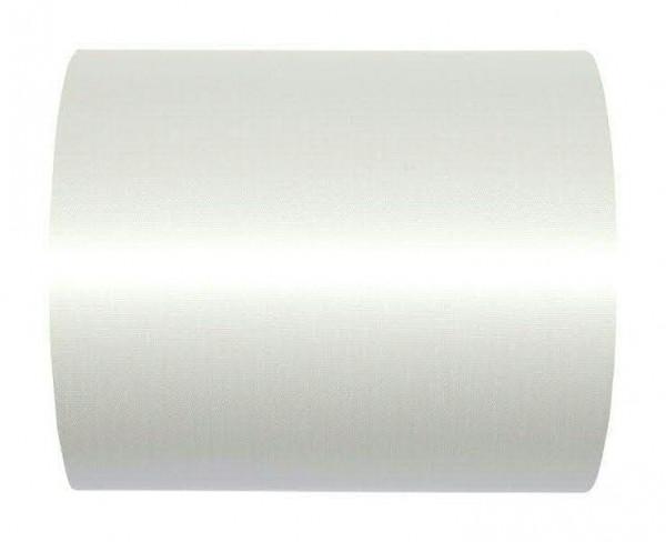 Kranzband 2600/100mm 25m Satin, 11 weiß