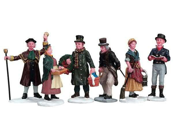 Village People Figurines S/6