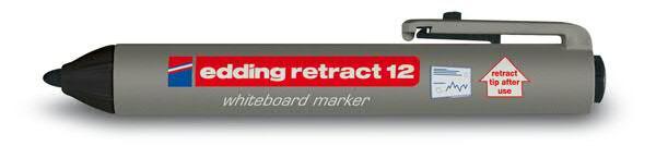 Edding 12 Whiteboard Marker, schwarz
