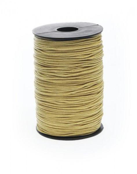 Kordel 1117/1,5mm 200m Wax cord, 51 ocker