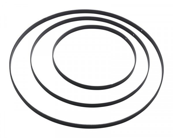 Ring Metall S/3 D25/35/45, schwarz