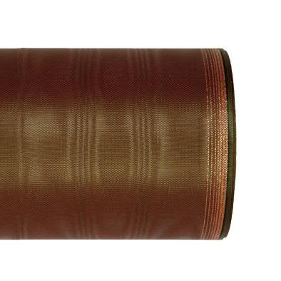 Kranzband 6694/100mm 25m Moire Goldrand, 647 gr/rot