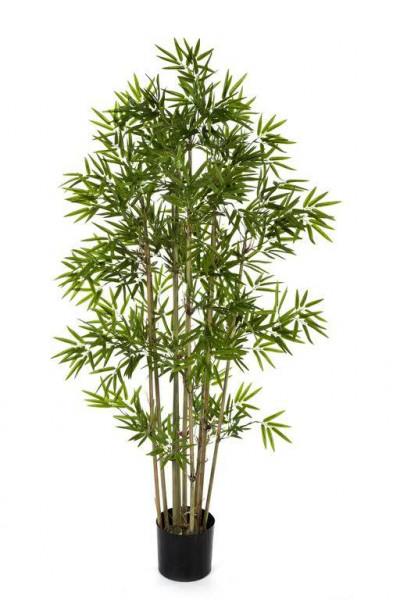 bambus pflanze 150cm japanese 1440bl bambus kunstb ume pflanzen sortiment deko. Black Bedroom Furniture Sets. Home Design Ideas
