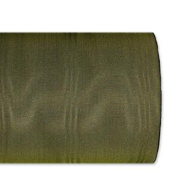 Kranzband 5025/200mm 25m Moire, 591 oliv