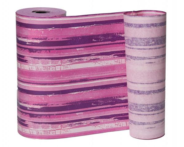 Manschettenpapier 25cm 100lfm Trend Li, rosa-pink