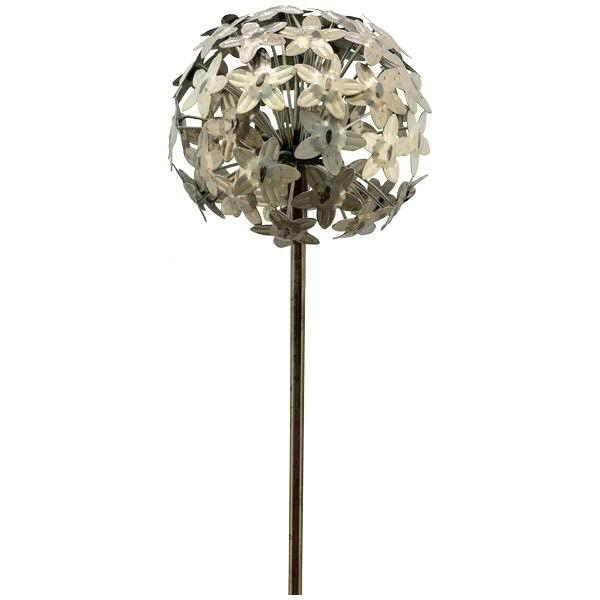 Gartenstecker Allium 20x116cm, zink