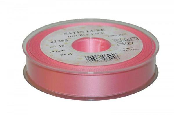 Band Satin 22355/16mm 25m, 015 rosa