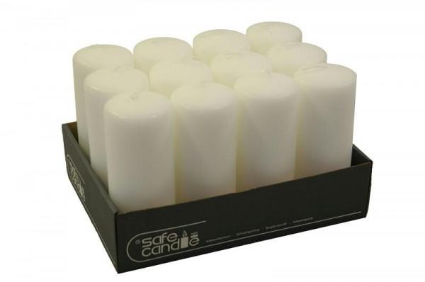 Stumpenkerzen 150/60, weiß