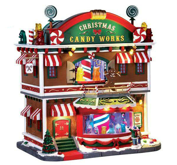 Christmas Candy works 4,5V Adaptor animiert mit Sound & Beleuchtung
