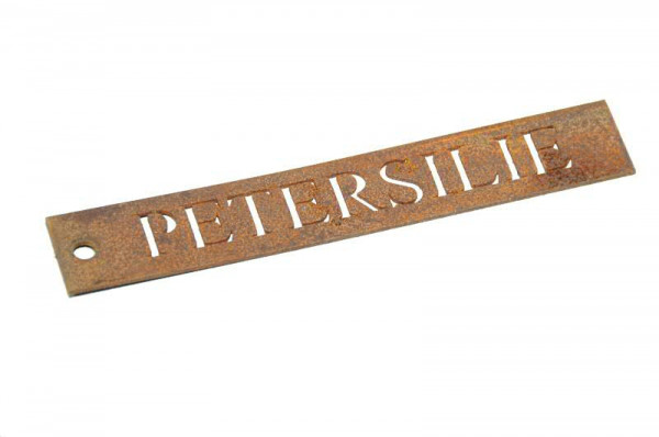Rost Schild Petersilie B2cm
