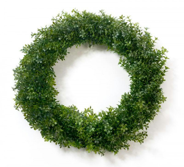 Teeblatt Kranz 35cm, grün