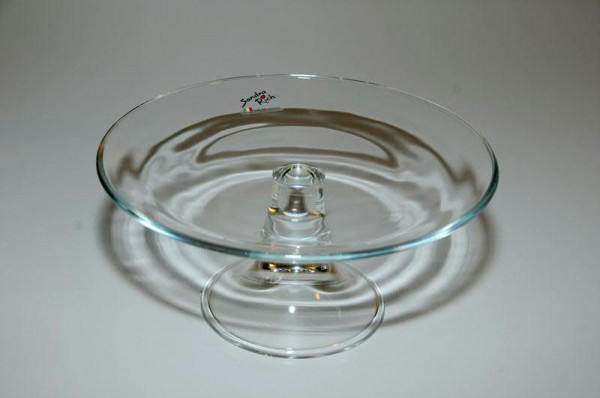 Glas Tortenplatte H9,5D21cm, klar