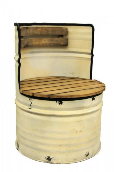 Stuhl SP Metall D57H81cm, creme