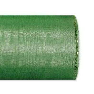 Kranzband 4422/175mm 25m Moire Goldrand, 206 grün