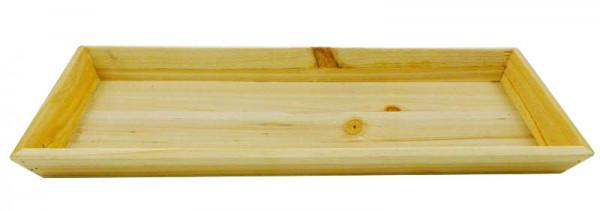 Tablett Holz 39x15x3cm, natur
